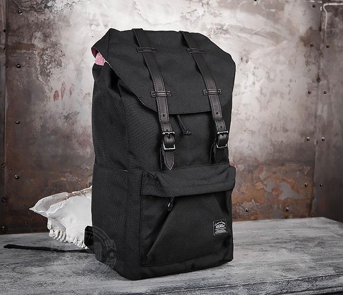 a84013ec0d8f BAG404-1 Мужской тканевый рюкзак черного цвета