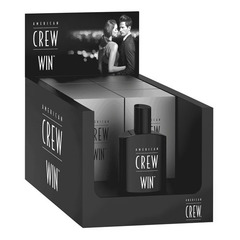 American Crew Win Box Display - Туалетная вода для мужчин
