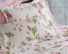 Постельное белье 2 спальное евро макси Mirabello Primi Fiori розовое