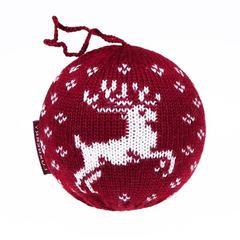 Шар декоративный Luxberry Олень бордовый