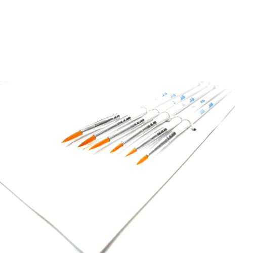 Инструменты Набор кистей из синтетического волоса 6шт. (№ 0000, 000, 00, 0, 1, 2) Без_имени-43.jpg