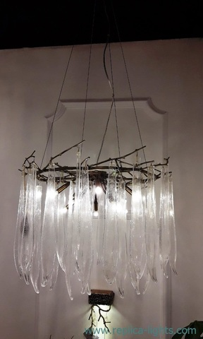 replica MURANO GLASS  chandelier 01 -01
