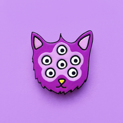 Значок «Шестиглазый Котик»