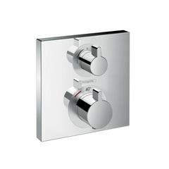 Термостат встраиваемый на 2 потребителя Hansgrohe Ecostat Square 15714000 фото