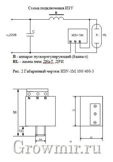 ИЗУ 1М 4,6 70-400W универсальное