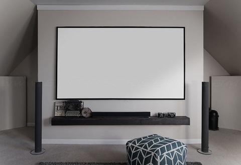 Elite Screens AR110WH2, экран безрамный