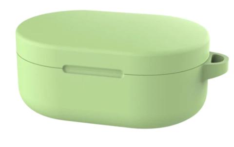 Чехол на Xiaomi Airdots силиконовый (зеленый)