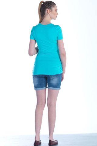 Блузка 01444 голубой