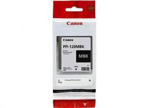 Картридж Canon PFI-120MBK matte black - черный матовый, 130 мл (2884C001)
