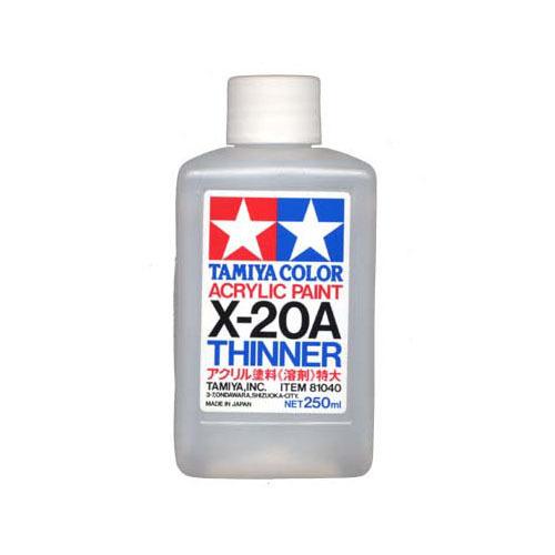 X-20A Tamiya, Разбавитель для акриловых красок (Acrylic Thinner) 250мл