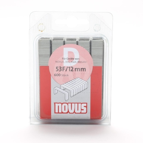 Скобы 53F/12 NOVUS (600 шт)