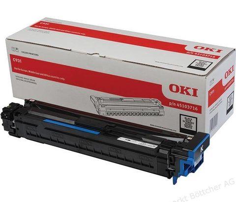Фотобарабан для OKI C911, C931 черный, ресурс 40000 стр., (45103716)