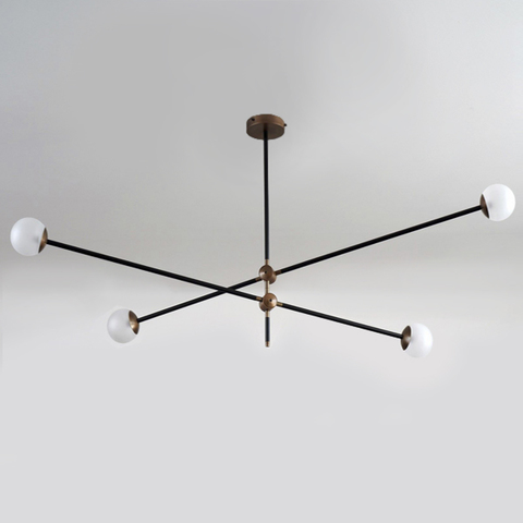 chandelier  BULLARUM SI-4 CHANDELIER  by Intueri Light
