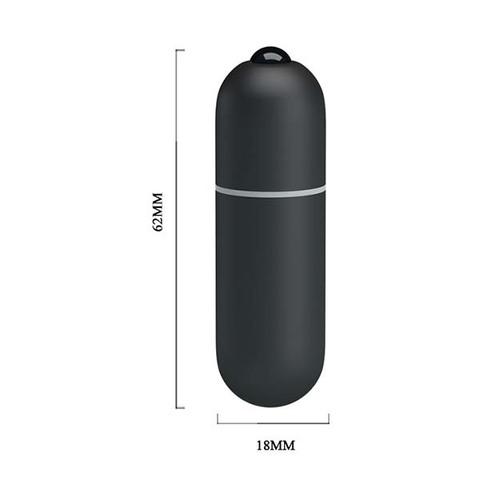 Вибропуля 10 режимов вибрации Black