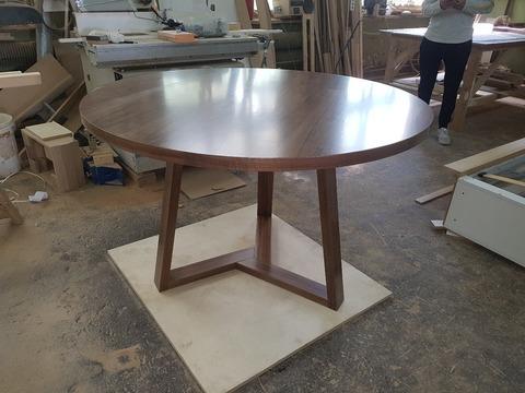 replica table   LONDON  WOOD ( by Steel Arts)