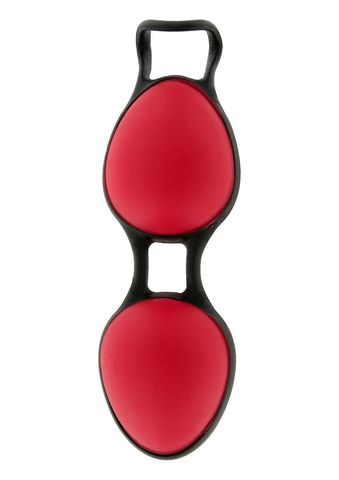 Красные вагинальные шарики Joyballs Secret