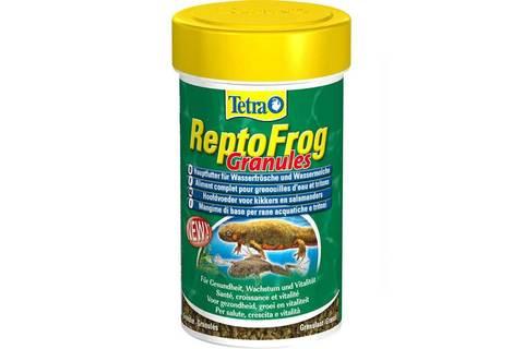 Tetra Repto Frog Granules Основной корм для лягушек и тритонов в виде гранул 100мл