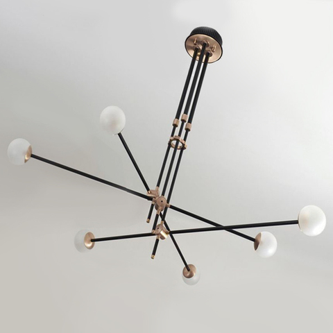 chandelier  BULLARUM SI-6 CHANDELIER  by Intueri Light