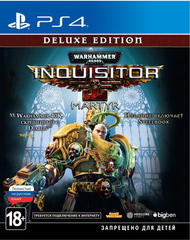 PS4 Warhammer 40,000: Inquisitor – Martyr. Deluxe Edition (русская версия)