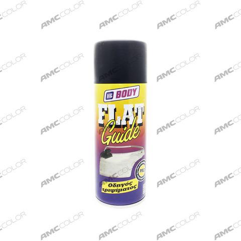 Body FLAT грунт проявочный черный 400мл (аэрозоль)