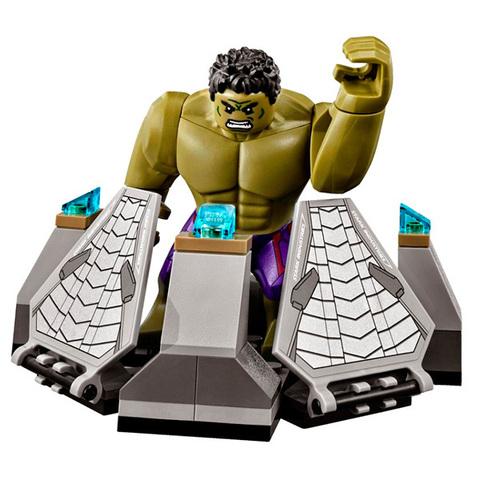 LEGO Super Heroes: Разгром Халкбастера 76031