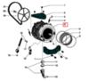 Бак в сборе для стиральной машины Indesit (Индезит)/Ariston (Аристон) - 308223
