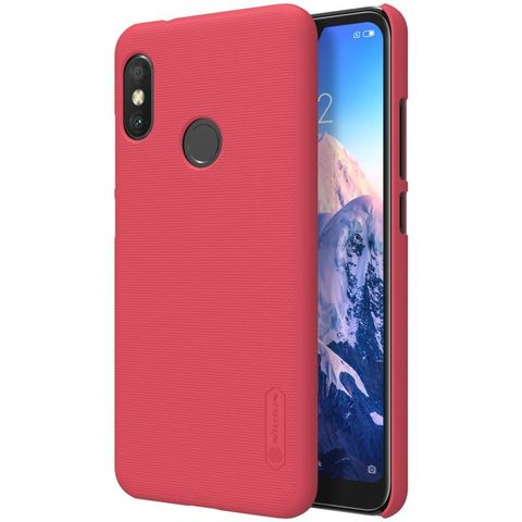 Накладка Nillkin Frosted Shield пластиковая для Xiaomi Mi А2 Lite Красная