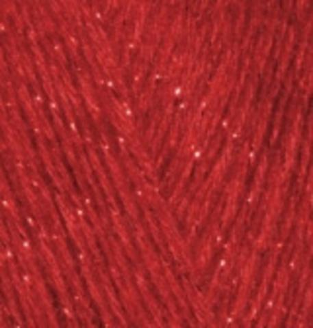 Alize Angora Gold SIMLI 106 красный, пряжа, фото