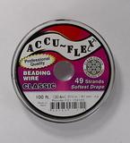 Ювелирный тросик Accu-Flex, 0,61 мм, 49 струн, цвет