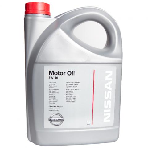 NISSAN MOTOR OIL 5W40 (Европа)