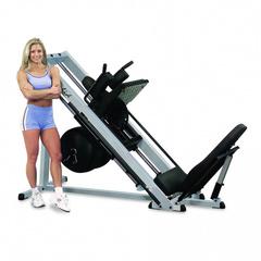 Жим ногами + Гак машина Body Solid GLPH-2100