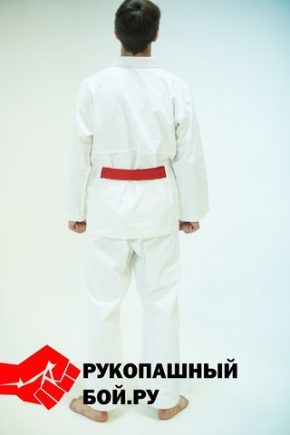Кимоно для рукопашного боя с прорезями для пояса