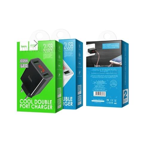 Купить сетевое зарядное устройство Hoco C25A
