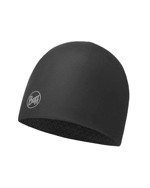 Тонкая шапка из 2-слойного полиэстра Buff Hat 2 layers polyester Drake Black