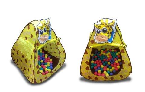 Домик игровой «Жираф» + 100 шариков CBH-11