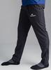 Детский Беговой костюм с капюшоном Nordski Run Black-Orange с прямыми брюками