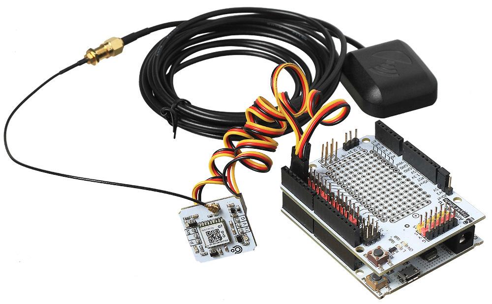 Общий вид с антенной и контроллером