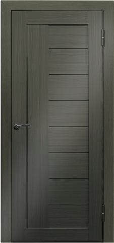 Дверь №17Х (грей мелинга, глухая экошпон), фабрика Profil Doors