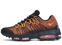 Кроссовки Мужские Nike Air Max 95 Black Orange
