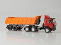 MAZ-6422 with semitrailer-tipper MAZ-9506-20 1:43 Start Scale Models (SSM)