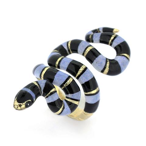 Кольцо Змея (синяя)