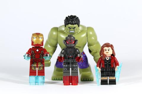 LEGO Super Heroes: Разгром Халкбастера 76031 — The Hulk Buster Smash — Лего Супергерои Марвел