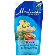 """Майонез  легкий """"Московкий Провансаль"""" 30% 390мл"""