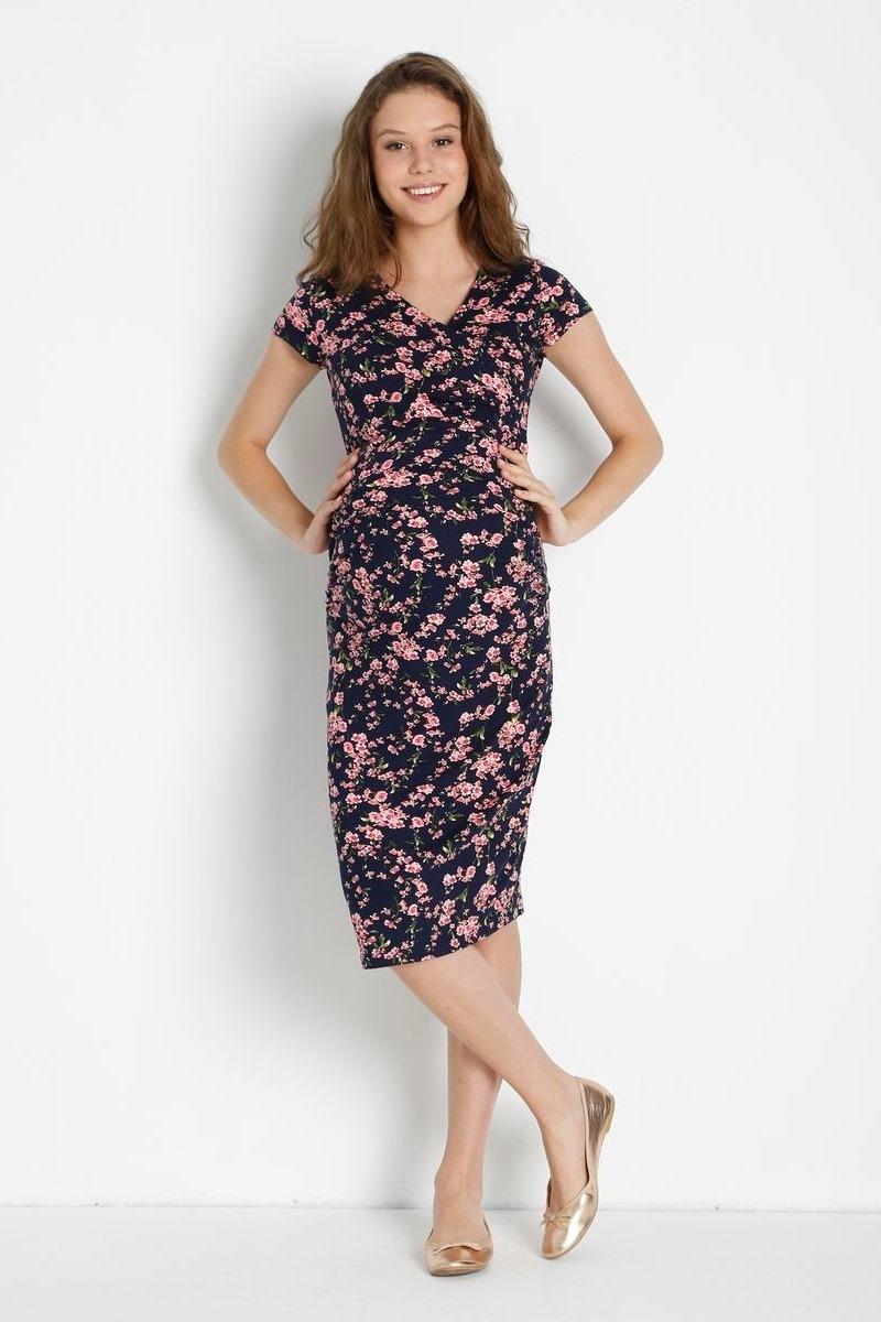 Платье 08457 цветы