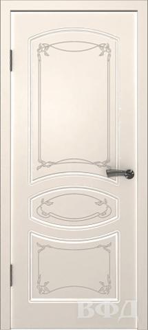Дверь Владимирская фабрика дверей Версаль 13ДГ01, цвет слоновая кость, глухая