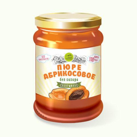 Пюре абрикосовое без сахара, 250 г