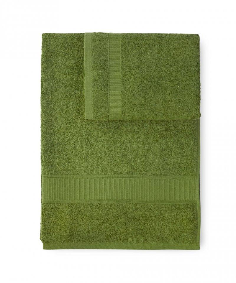 Наборы полотенец Набор полотенец 2 шт Caleffi Calypso зеленый nabor-polotenets-2-sht-caleffi-calypso-zelenyy-italiya.jpg