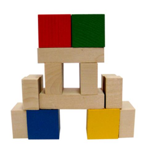 Конструктор Кубик и его части (14 дет.) (RNToys)