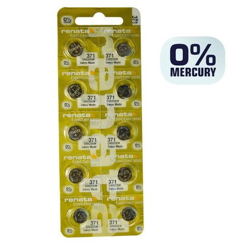 Батарейки часовые Renata SR920SW (MP-E) (371)