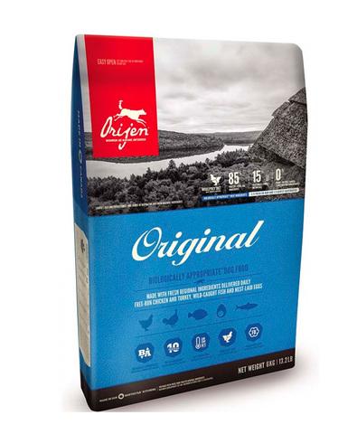 Orijen Original 85/15 корм беззерновой для собак 2 кг